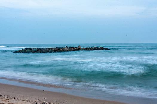 Ocean flow by Kathleen McGinley