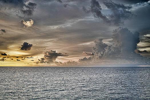 Ocean God Clouds by Roberto Aloi