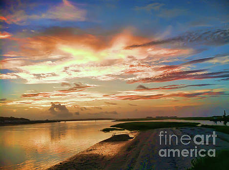 Ocean Isle Sunrise by Kerri Farley