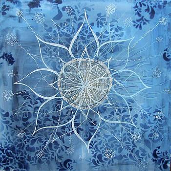 Ocean Mandala by Louise Gale
