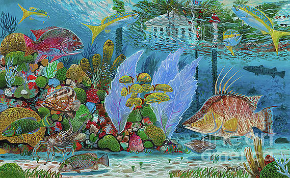 Ocean Reef Paradise by Carey Chen