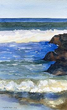 Ocean Reflection by Juanita Yoder