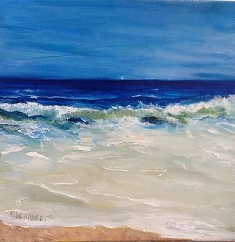 Ocean roar by Chuck Gebhardt