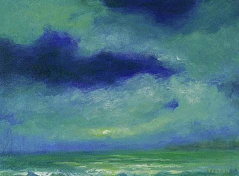 Ocean sky 2 by Julianne Felton