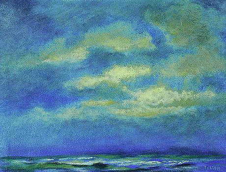 Ocean sky 4 by Julianne Felton