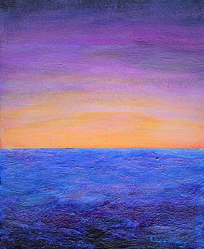 Ocean Sunrise 1 or Hope of a New day by Craig Imig