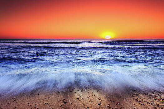 Ocean Sunrise March 9 2017 by Dapixara Art