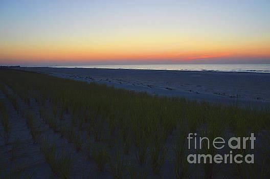 Robyn King - Ocean Sunrise Meditation Art