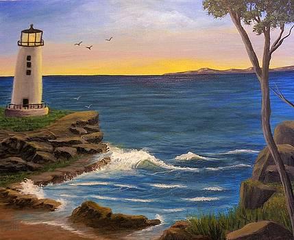 Ocean Sunrise by Sheri Keith