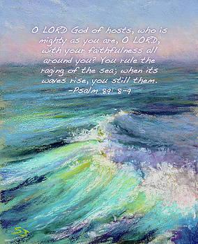 Ocean Symphony with Bible Verse by Susan Jenkins