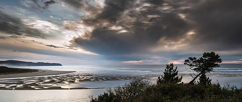 Ocean View at Sunset by Don Schwartz