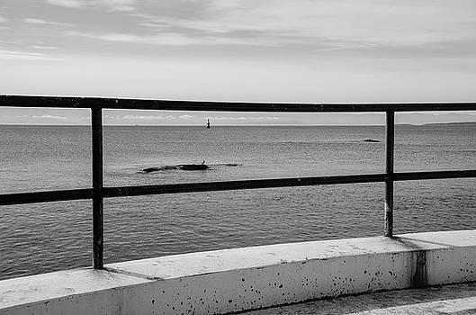Marilyn Wilson - Ocean View - b/w