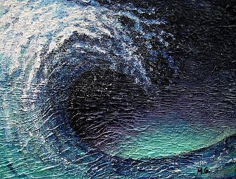 Ocean Wave by Mirjana Gotovac