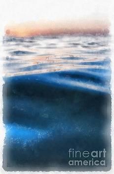 Ocean Waves by Edward Fielding