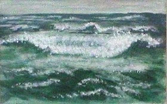 Ocean Waves III by Rhonda Myers
