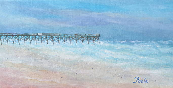 Oceanic Pier at Wrightsville Beach by Pamela Poole