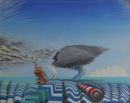 Oceanic Pschedellia  by Michael Steven Nicolaou