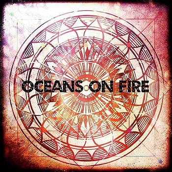 Oceans On Fire #digitalart #pixlr by Michal Dunaj
