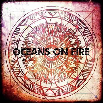 Oceans On Fire #digitalart #pixlr by Michal Dunaj