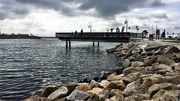 Oceanside Fishing Pier by Jan Cipolla