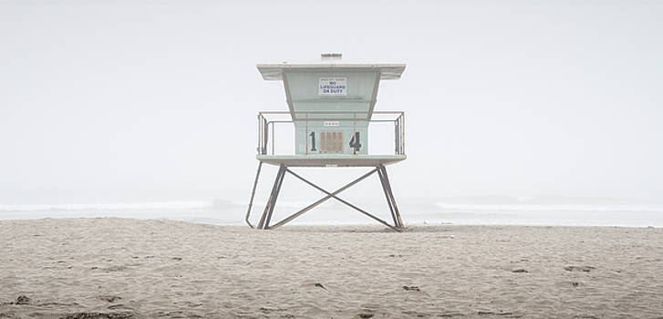 Oceanside Harbor Lifeguard Tower by William Dunigan
