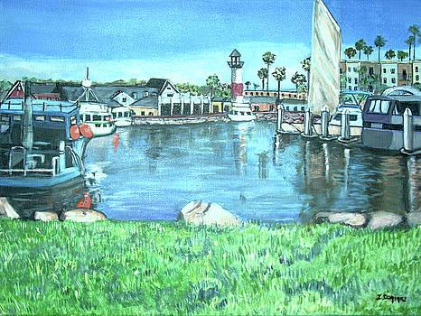 Oceanside Harbor by Teresa Dominici