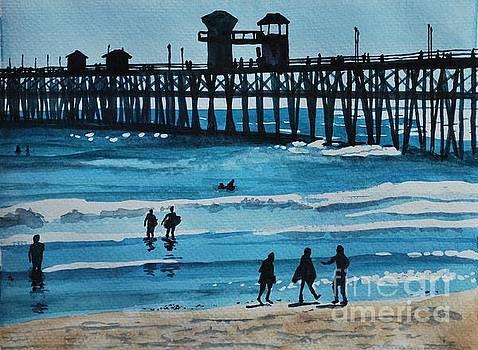 Oceanside Pier by James Nuce