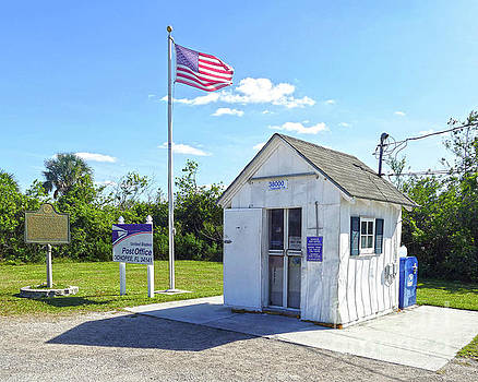 Ochopee, Florida, Smallest Post Office in U. S. by Catherine Sherman