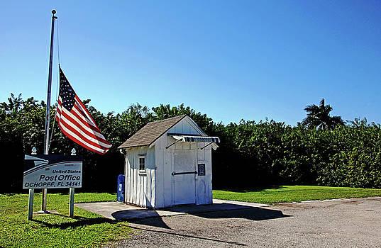 Ochopee Post Office Florida by Debbie Oppermann