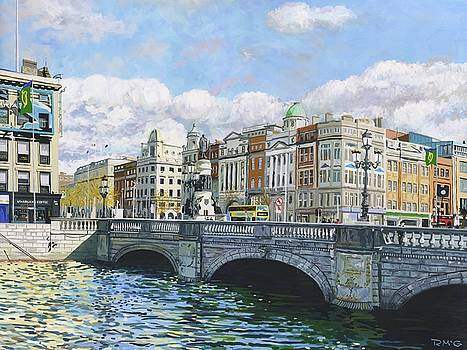 O'Connell bridge by Rick McGroarty