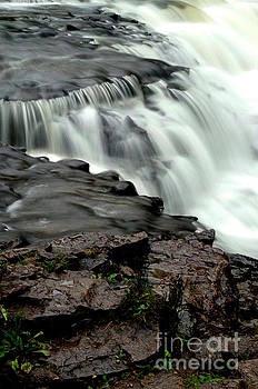 Ocqueoc Falls by Randy Pollard