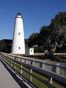 Ocracoke Light by Ron and Linda Balogh