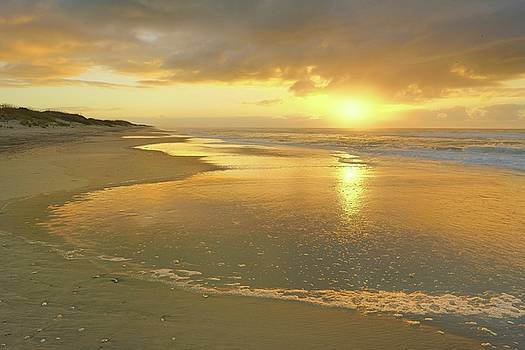 Ocracoke Sunrise by Jeff Burcher
