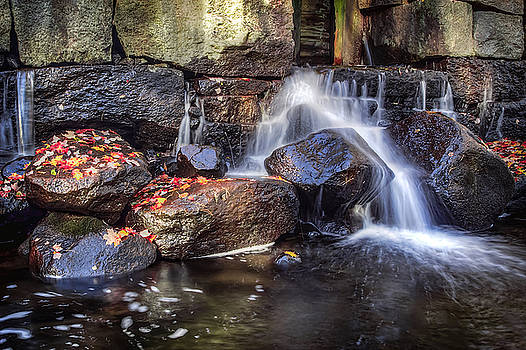 October At Shory Park Falls by David Pratt