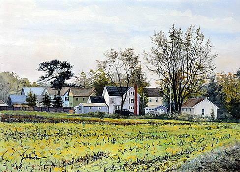 October Cornfield by Bill Hudson