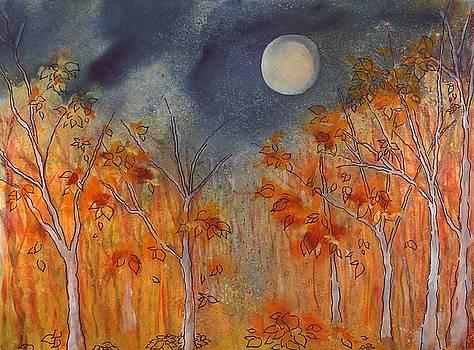 October Full Hunter's Moon by Robin Samiljan