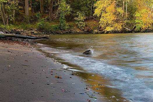 October Morning at the Beach by Jeff Severson