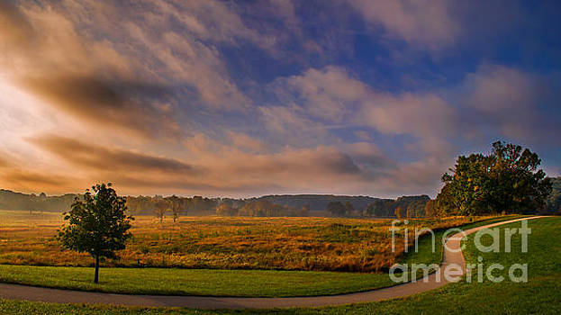Rima Biswas - October morning at Valley Forge