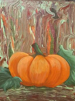 October Pumpkin by JoAnn Morgan Smith