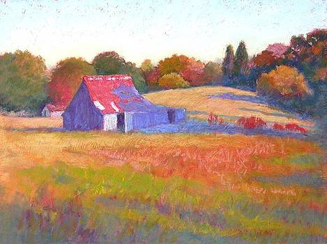 October Shadows by Julie Mayser