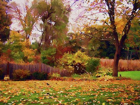October Yard by Betsy Zimmerli