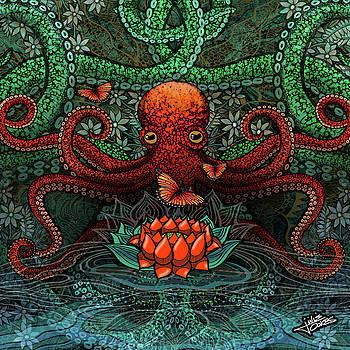 Octopus Lotus by Julie Oakes