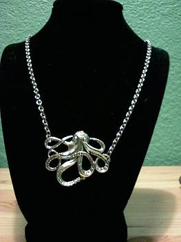 Octopus Necklace by Kendell Tubbs