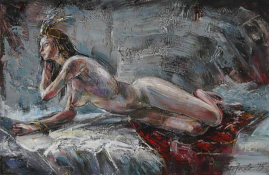 Odalisque by Stefano Popovski