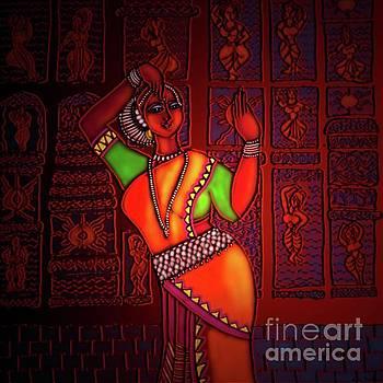 Odissi Dancer by Latha Gokuldas Panicker