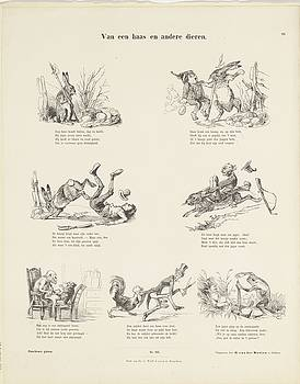 Of a hare and other animals Easter Bunny by R Muirhead Art
