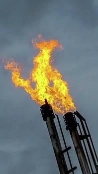 Offshore Flames by Britten Adams