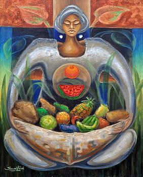 Ofrenda de frutas I by Samuel Lind