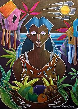 Ofrendas de mi tierra II by Oscar Ortiz