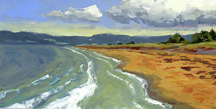 Ogunquit Beach, Tide Rising by Mary Byrom